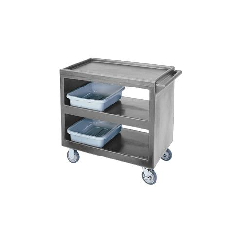 37 1/4 in X 21 1/2 in Gray Service Cart