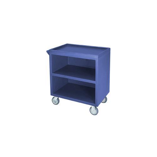 33 1/8 in X 20 in Blue Service Cart