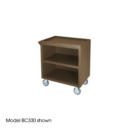 33 1/8 in X 20 in Brown Service Cart