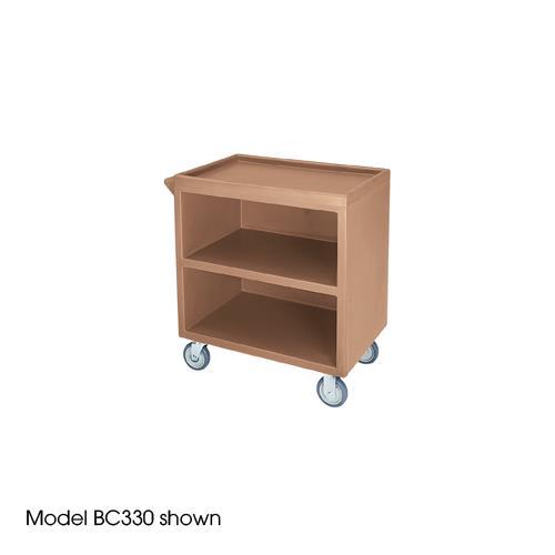 33 1/8 in X 20 in Beige Service Cart