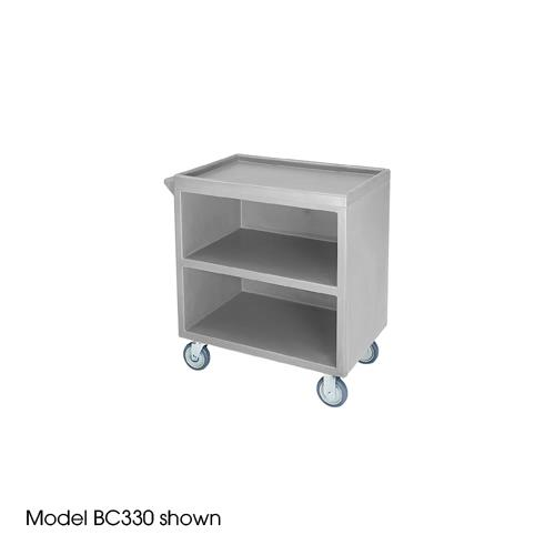 33 1/8 in X 20 in Gray Service Cart