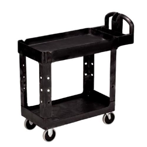 39 in x 17 7/8 in Black Utility Cart