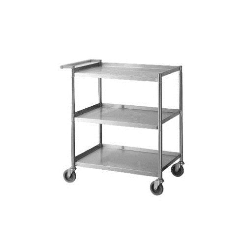 Turbo air tbus 1524e 15 in x 24 in stainless steel for Kitchen utility cart