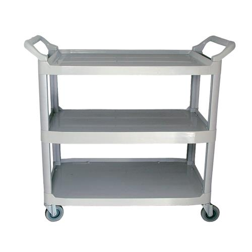 UPDATE INTERNATIONAL - BC-2416LGZ - CHARIOT UTILITAIRE GRIS 32 PO X 16 1/4 PO