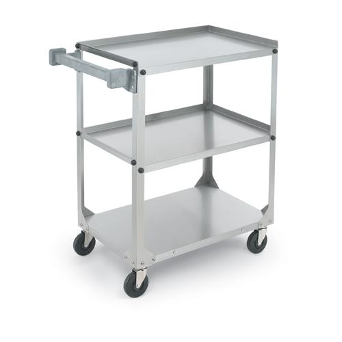 Vollrath 97140 39 1 2 in x 21 in stainless steel for Kitchen utility cart