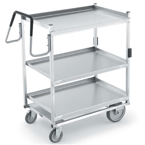 kitchen utility cart vollrath 97208 23 in x 35 in stainless steel utility 31270