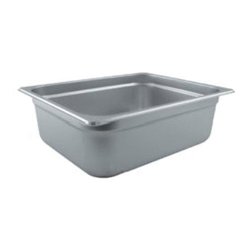 Crestware 2124 Half Size 4 in Deep Steam Table Pan for Restaurant Chef