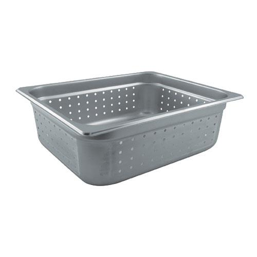 Update International NJP-504PF Half Size 4 in (Depth) Perforated Steam Table Pan for Restaurant Chef