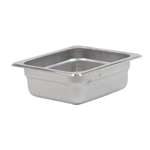 Update International NJP-162 Sixth Size 2 1/2 in (Depth) Steam Table Pan for Restaurant Chef