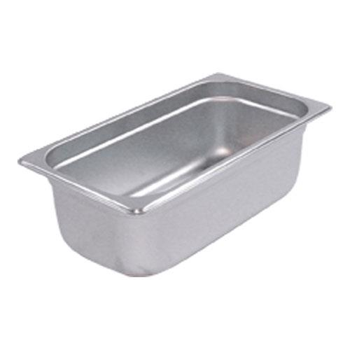 Update International NJP-334 Third Size 4 in (Depth) Steam Table Pan for Restaurant Chef