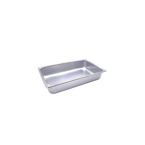 Vollrath 30042 Full Size 4 in Deep Steam Table Pan for Restaurant Chef