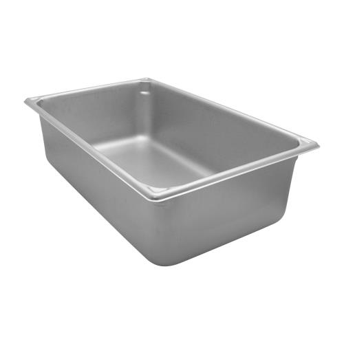 Vollrath 30062 Super Pan V Full Size 6 in Deep Steam Table Pan for Restaurant Chef
