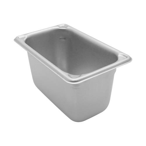 Vollrath 30942 Super Pan V Ninth Size 4 in Deep Steam Table Pan for Restaurant Chef