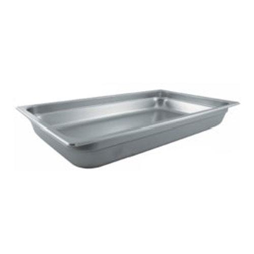 Winco SPJP-102 Full Size 2 1/2 in Deep Steam Table Pan for Restaurant Chef