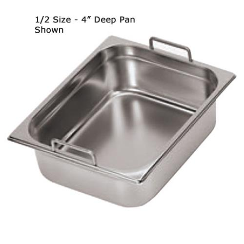 Half Size 7 7/8 in Deep Steam Table Pan at Discount Sku 14115-20 WOR1411520