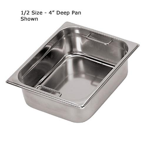 Third Size 6 in Deep Steam Table Pan at Discount Sku 14147-15 WOR1414715