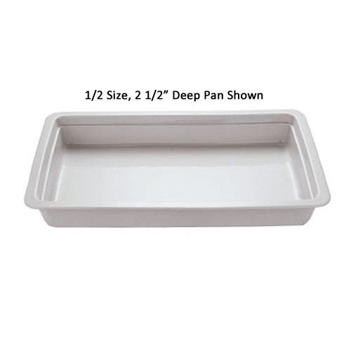 Sixth Size 2 1/2 in Deep Steam Table Pan at Discount Sku 44339-06 WOR4433906