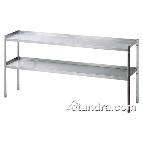 "60"" Stainless Steel Overshelf at Discount Sku TSOS-5R TURTSOS5R"