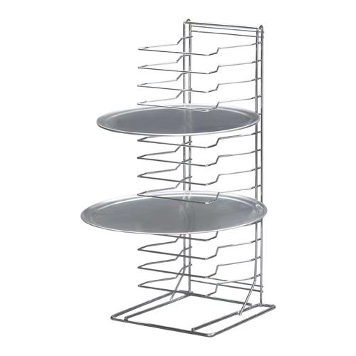 Undercounter Pizza Pan Stand at Discount Sku PR-15W CHLPR15W