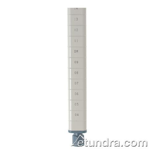 """61 3/4"""" MetroMax Q Shelving Post For Casters at Discount Sku MQ63UPE IMEMQ63UPE"""