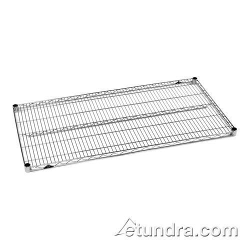 """24"""" x 48"""" Super Erecta Chrome Plated Shelf at Discount Sku 2448NC IME2448NC"""