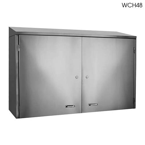 Glastender wch42 42 wall cabinet w doors etundra for 42 inch kitchen cabinets