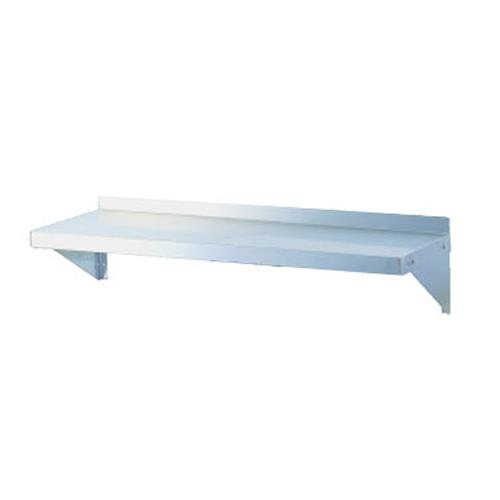 """12"""" x 60"""" Stainless Steel Wall Mounted Shelf at Discount Sku TSWS-1260 TURTSWS1260"""