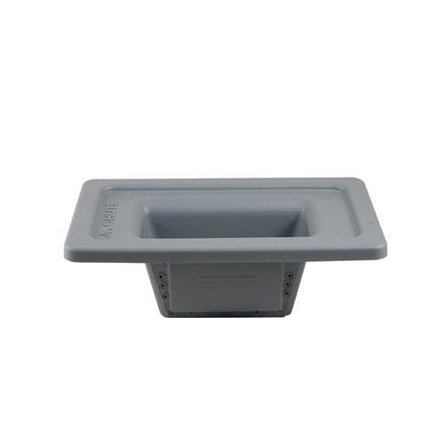 commercial 23 gallon magnetic flatware retriever etundra