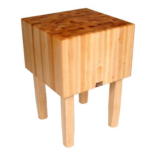 John boos aa12 50 x 35 aa block etundra - Butcher block kitchen work table ...