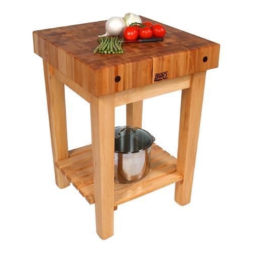 Kitchen Work Table Butcher Block : John Boos - GB - 24