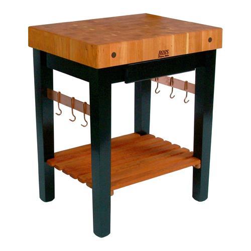 Kitchen Work Table Butcher Block : John Boos - RN-PPB3024D - 30