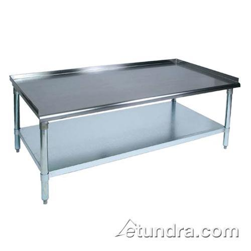 "E Series 30"" x 15"" Stainless Steel Equipment Stand at Discount Sku EES8-3015 JHBEES83015"