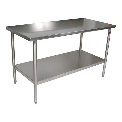 "Cucina Americana 48"" x 30"" Tavalo Flat Top Work Table at Discount Sku CUCTA08 JHBCUCTA08"