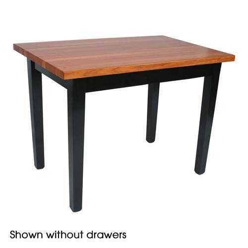 "Kitchen Table Drawers: 60"" X 36"" Le Classique Table"