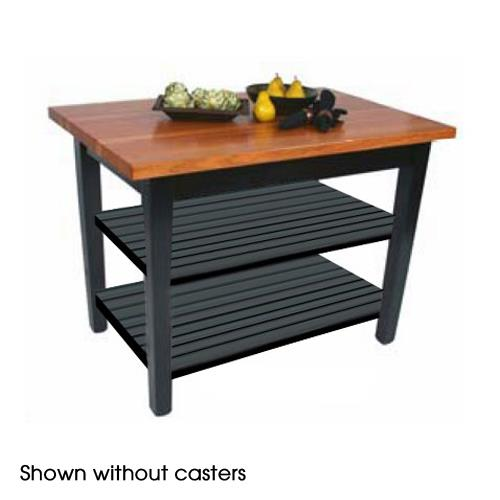 "36"" Le Classique w/ (2) Shelves & Casters at Discount Sku RN-C3624C-2S JHBRNC3624C2S"
