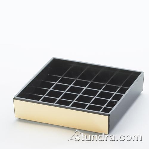 4 in x 4 in Gold Drip Tray at Discount Sku 392-11 CLM39211