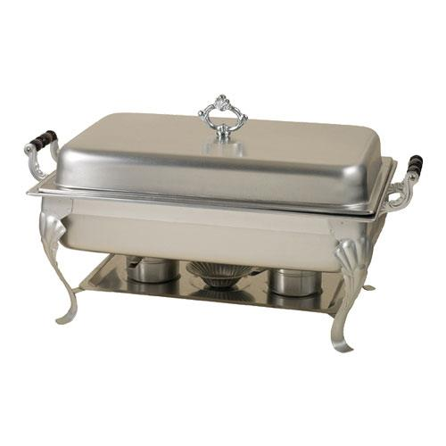 Adcraft laf 7 8 qt rectangular chafer with sculpted for Dining room equipment