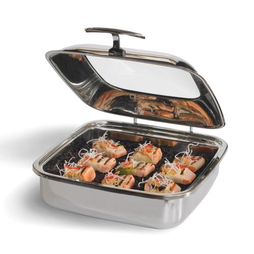 Vollrath 46134 Intrigue Chafer W Glass Top