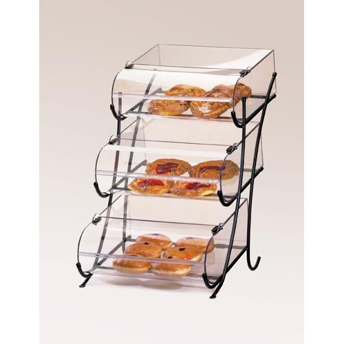 Cal mil 1280 3 3 tier bread bin stand etundra for Dining room equipment