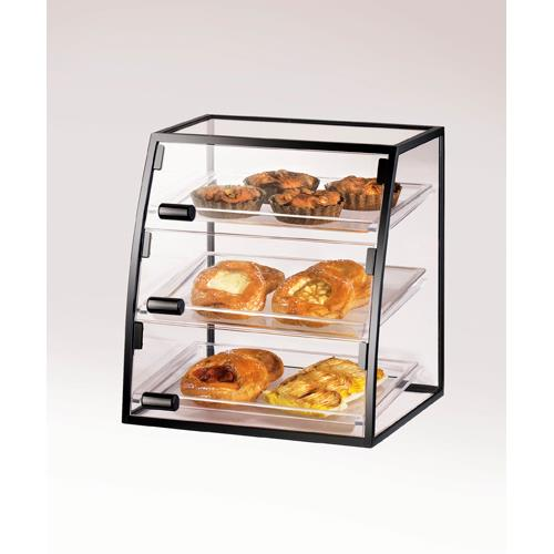 Cal mil 1708 1014 3 tier display case bakery donut pastry for Dining room equipment