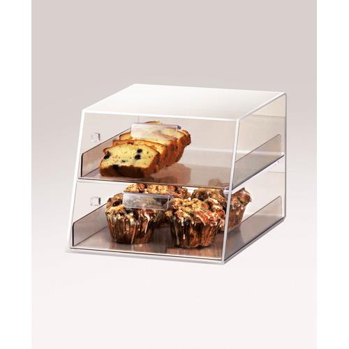 Cal mil 258 2 drawer display case etundra for Dining room equipment