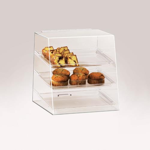 Cal mil 261 3 tier display case etundra for Dining room equipment
