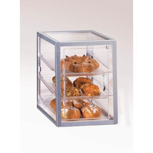 Cal mil 268 s 3 tier display case etundra for Dining room equipment