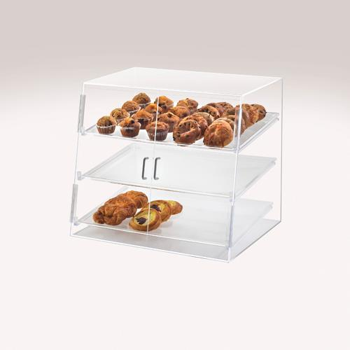 Cal mil p254ss 3 tier display case etundra for Dining room equipment