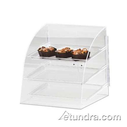 Cal mil p255 euro 3 tier muffin display case etundra for Dining room equipment