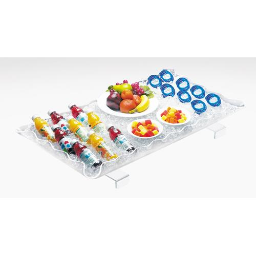 29 in x 18 in Clear Buffet Tray at Discount Sku 989-12 CLM98912