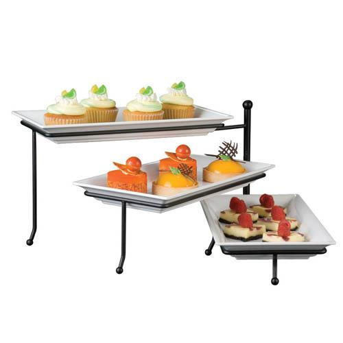 American metalcraft ttrec3 9 5 8 in 3 tier stand etundra for Dining room equipment