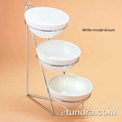 3-Tier Chrome 10 in Bowl Display at Discount Sku C1223-10 CLMC122310