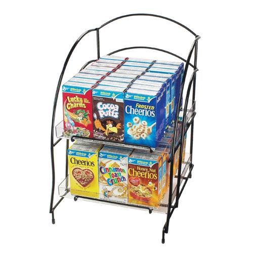 Cal mil 639 2 tier cereal organizer etundra for Cereal organizer