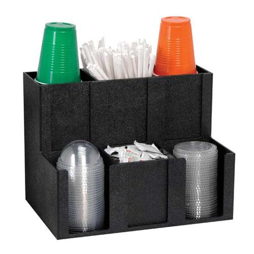 Dispense Rite Mcd 6bt Condiment And Straw Organizer